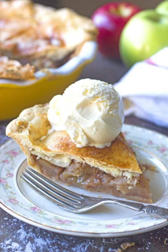Deep Dish Apple Pie Recipe