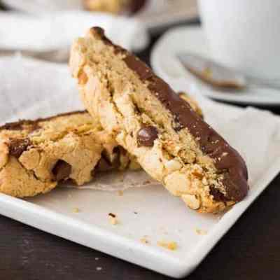 Chocolate and Almond Biscotti Recipe