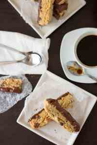 Chocolate and Almond Biscotti