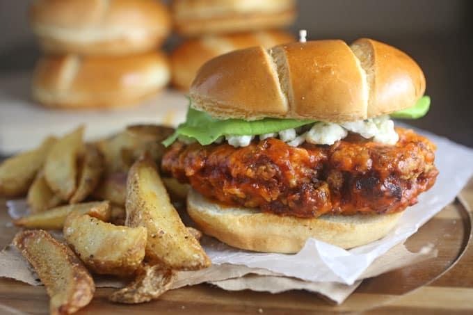 Crispy Chicken Buffalo Sandwich