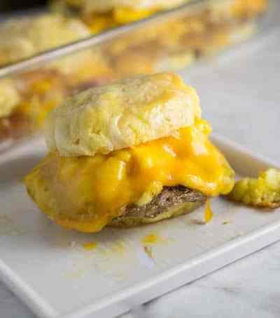 Easy Biscuit Breakfast Sandwich