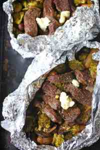 Steak and Potato Foil Pack Dinner