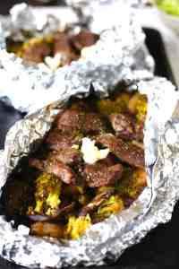 Steak and Potato Foil Pack Dinner