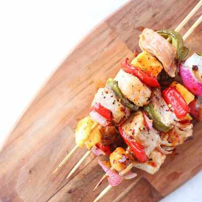 Sweet Chili Pork Kabobs Recipe