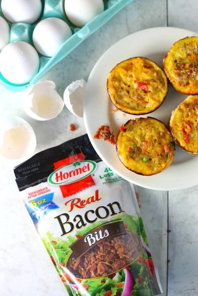 Bacon and Cheddar Mini Quiche recipe