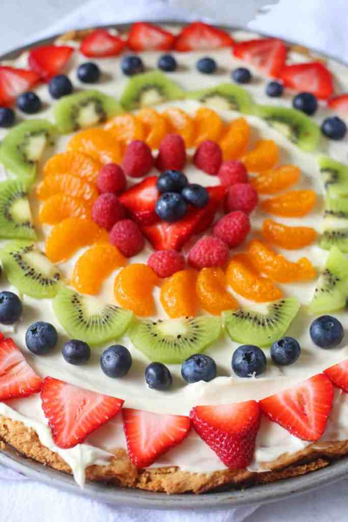 Sugar Cookie Fruit Pizza Recipe