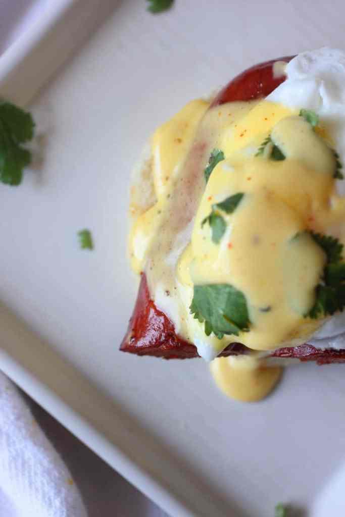Cajun Eggs Benedict Recipe