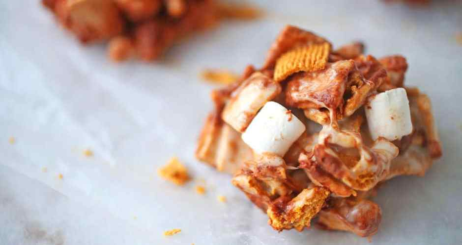 Golden Grahams S'mores Cereal Clusters Recipe