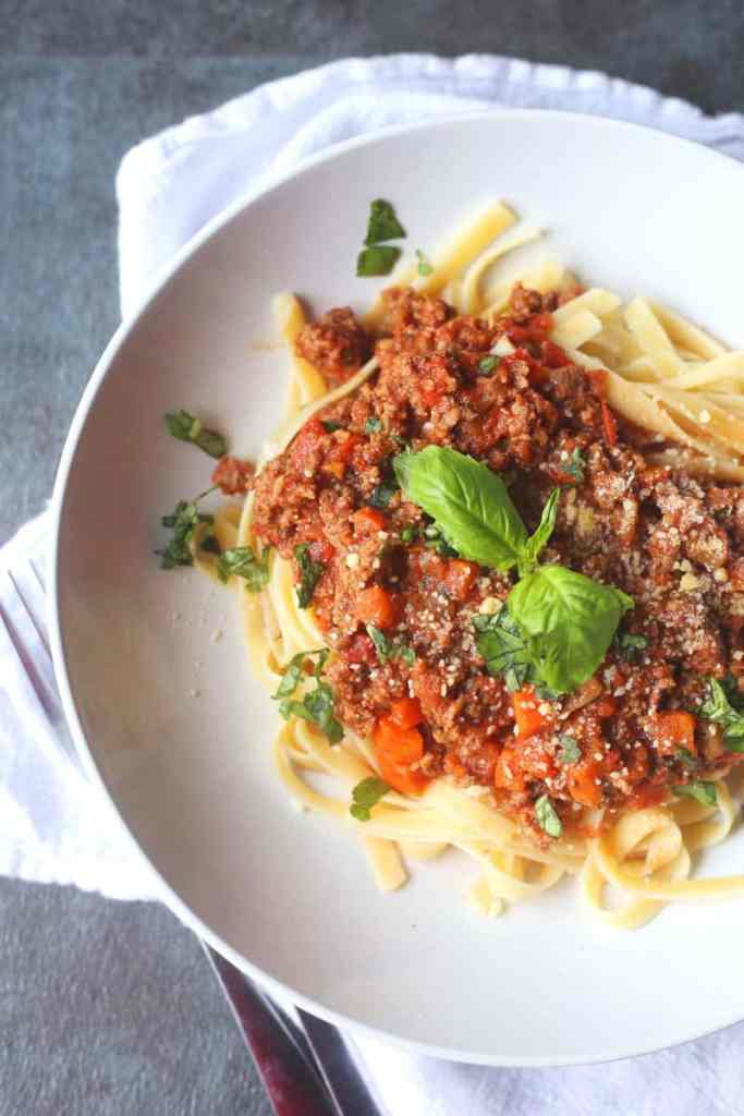 Easy Pasta Bolognese Recipe