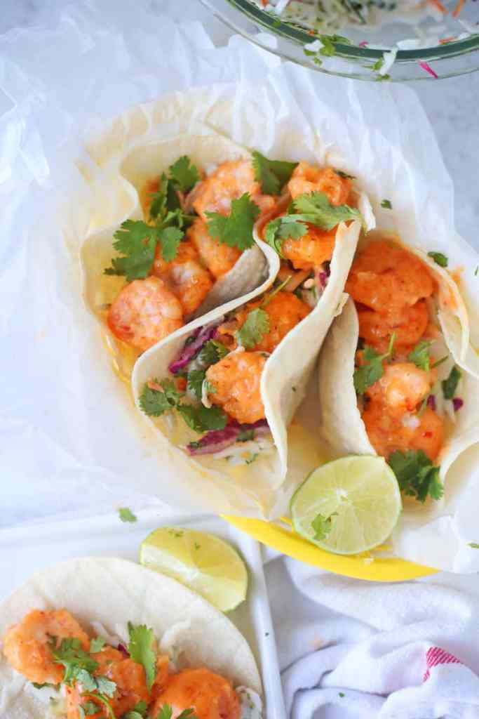Bang Bng Shrimp Tacos