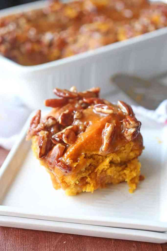 Pumpkin Sticky Buns Recipe