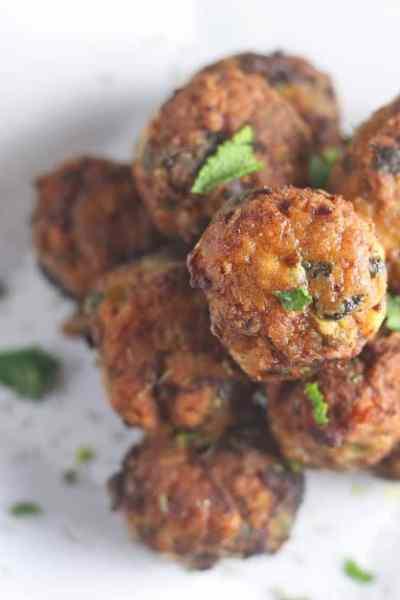 Greek Turkey Meatballs Recipe