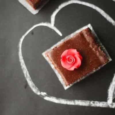 Four Roses Brownies (Bourbon Fudge Brownies)