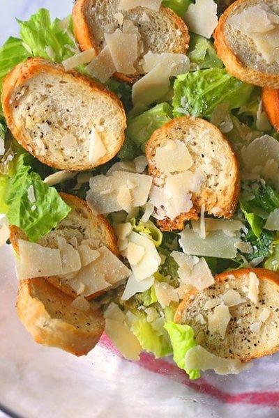 Grilled Caesar Salad Recipe