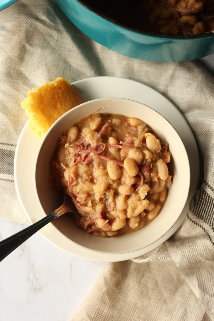 Southern Norther Bean and Smoked Turkey