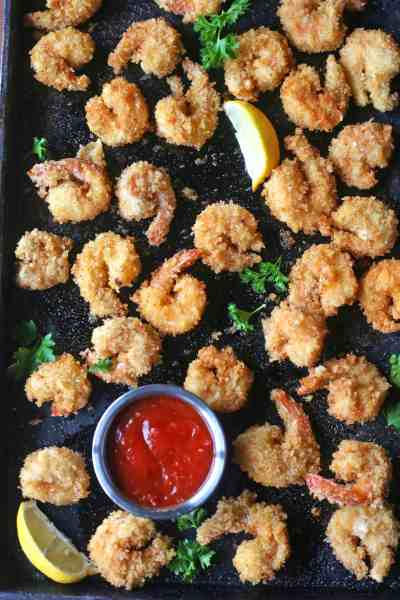 Spicy Crispy Fried Shrimp Recipe