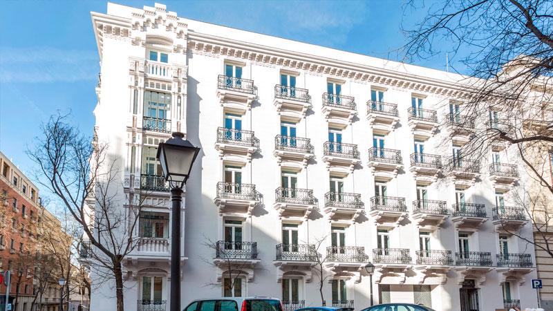 Presentación edificio Alfonso XI, Madrid