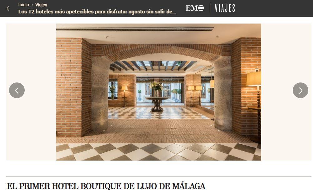 El hotel Palacio Solecio, rehabilitado por BSV Arquitectos, recomendado en El Mundo Viajes