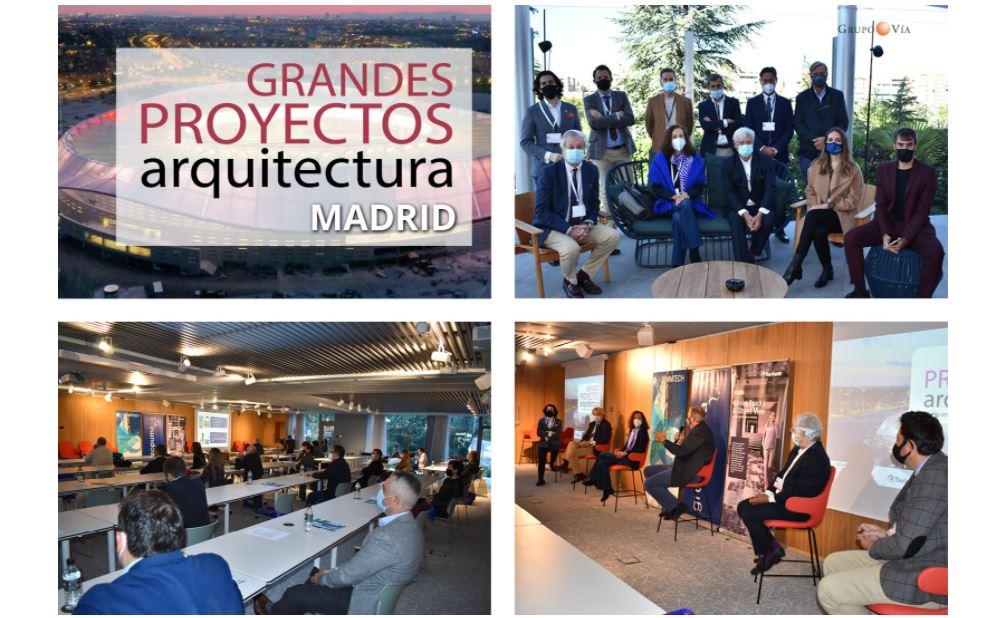 Ignacio Sainz de Vicuña, socio de B/SV Arquitectos, ponente en el evento «Grandes Proyectos de Arquitectura» organizado por Grupo Vía