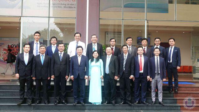 Deputy Prime Minister Pham Binh Minh visits International University – VNU