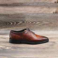 Giày Oxford Wholecut Patina Btahome PA 012-6