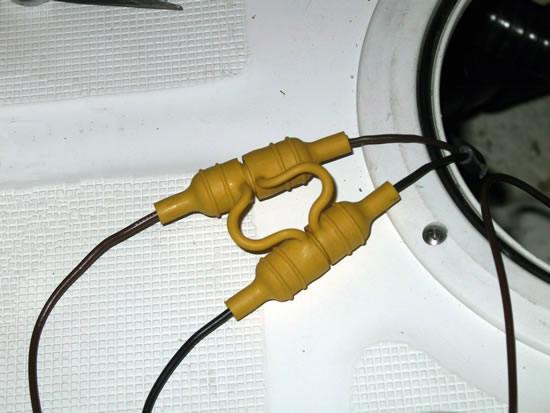Bait-pump disconnect experiment