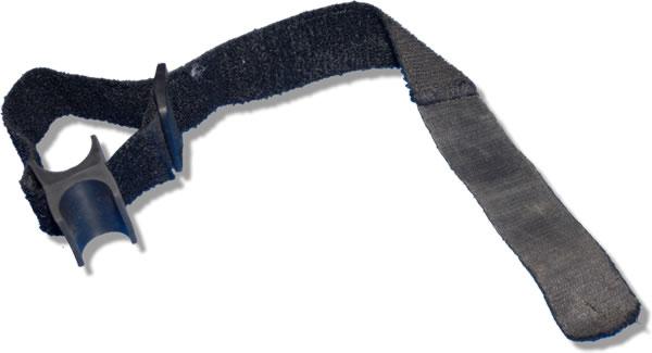 Velcro tube holder