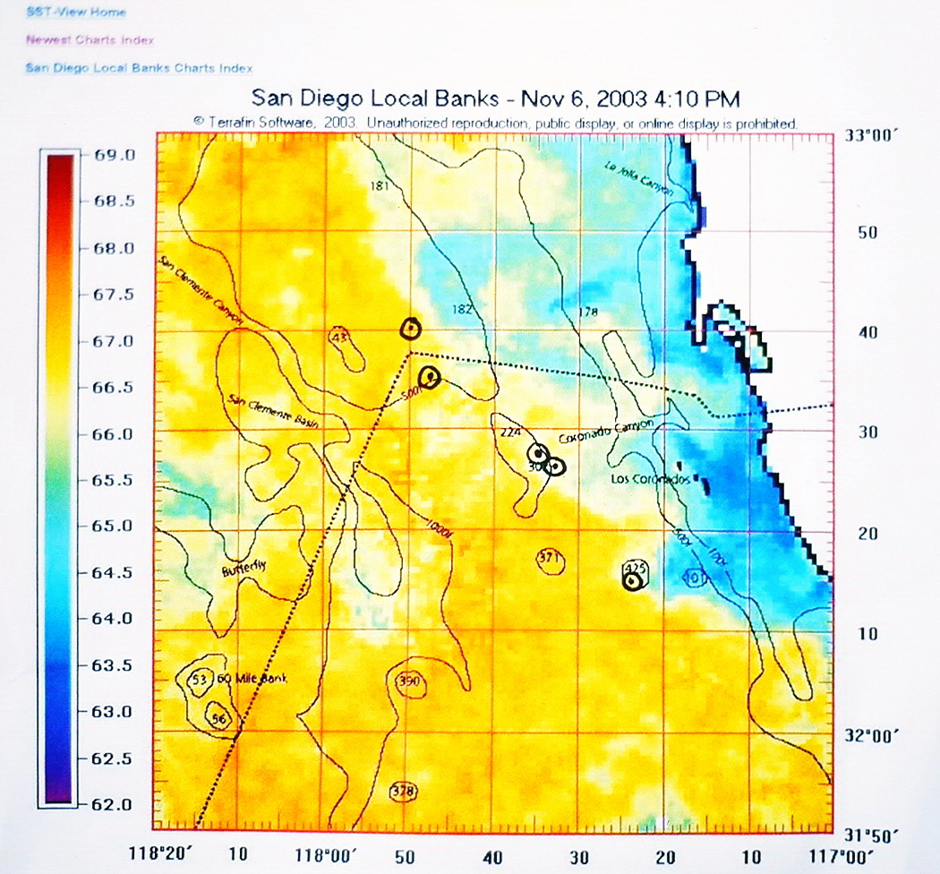 A good SST map, like the Terrafin SST, can make finding fish easier-courtesy Terrafin