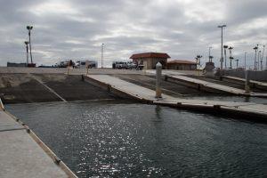 Oceanside launch ramp