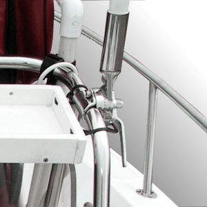 Tao of Rigging - Antenna base, mounted to top console rail