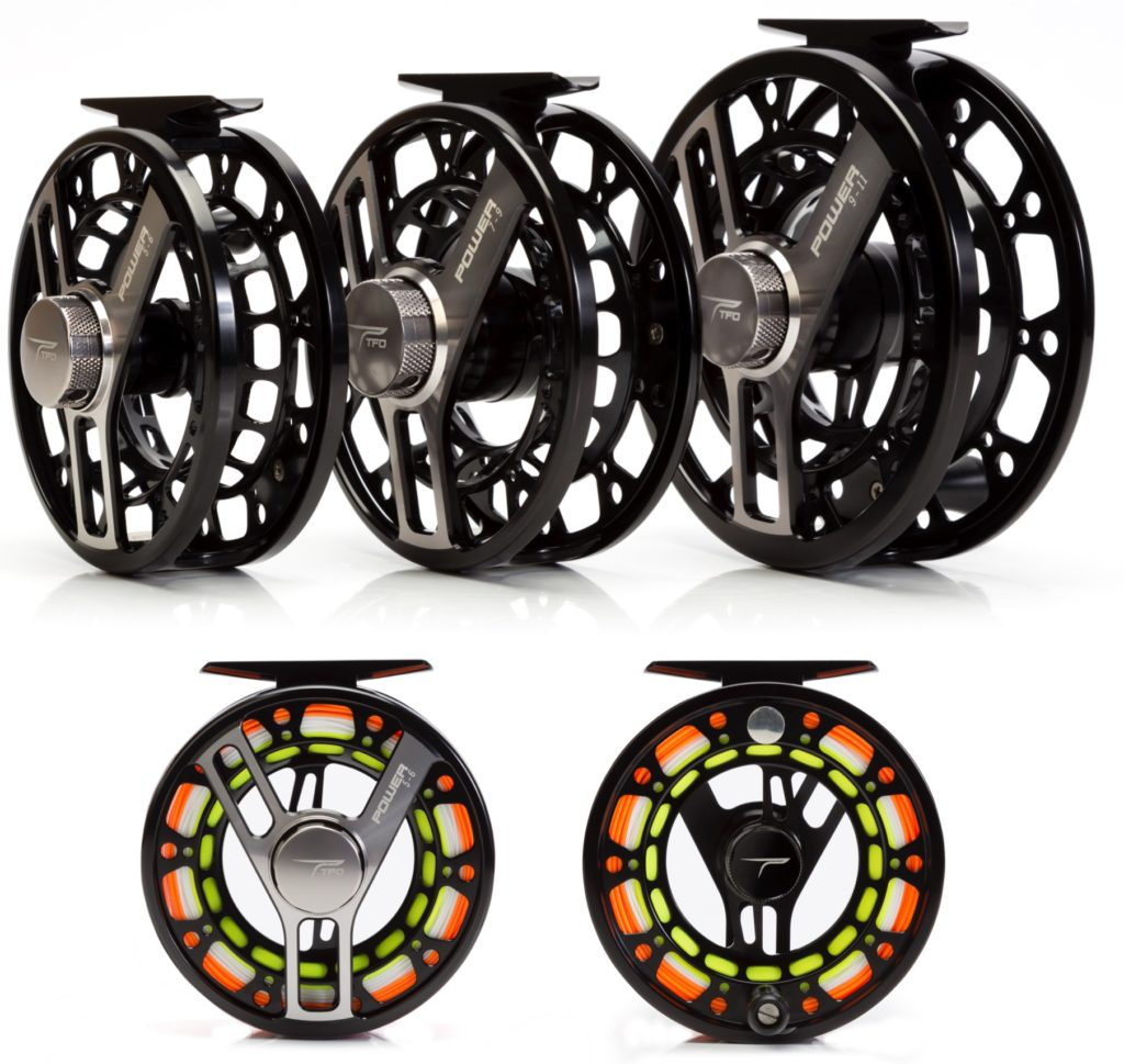 TFO Power Reels - one of the possible Mylar Summer Pickup prizes