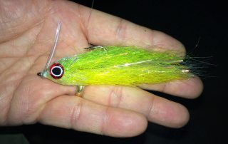 The Mashup fly-chartreuse and yellow