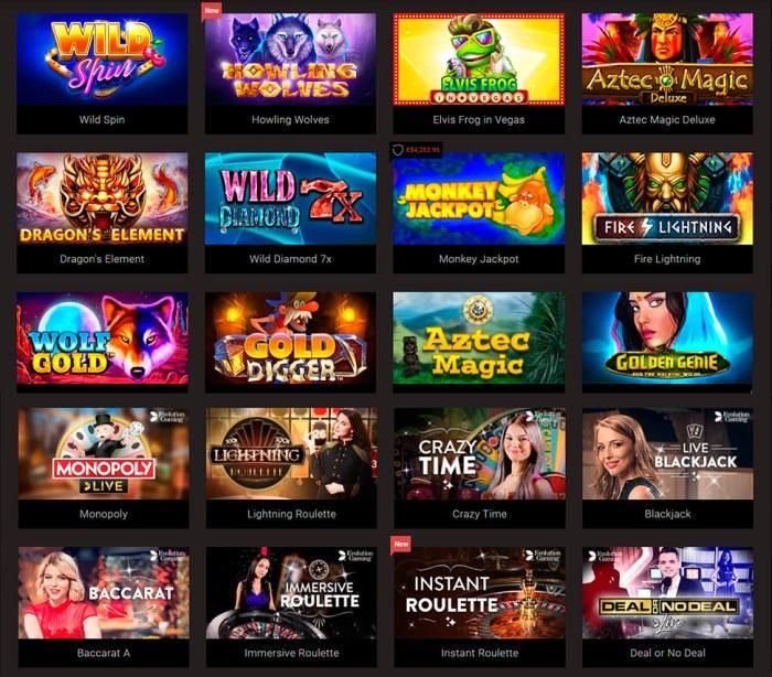 Online Casino Slot Free Play
