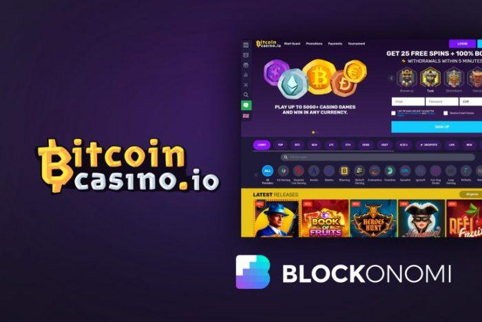 Smaragd bitcoin Kasino Krieger Rennen