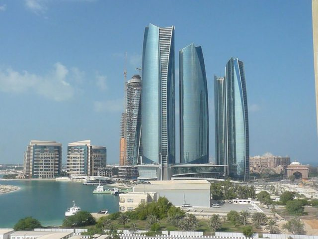 EtihadTowers,_Abu_Dhabi,_ Ripplenet expands to the middle east