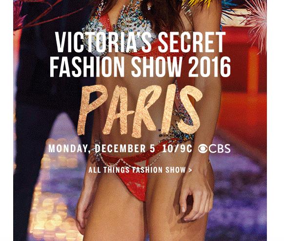 VS Fashion Show Paris 2016