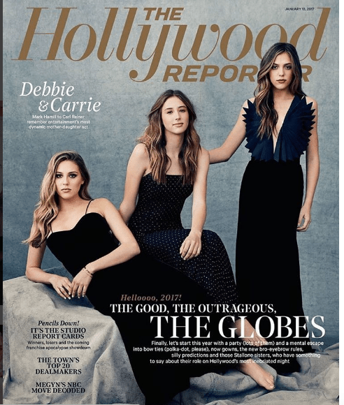 #Stallonegirls #ERedCarpet #Globes2017