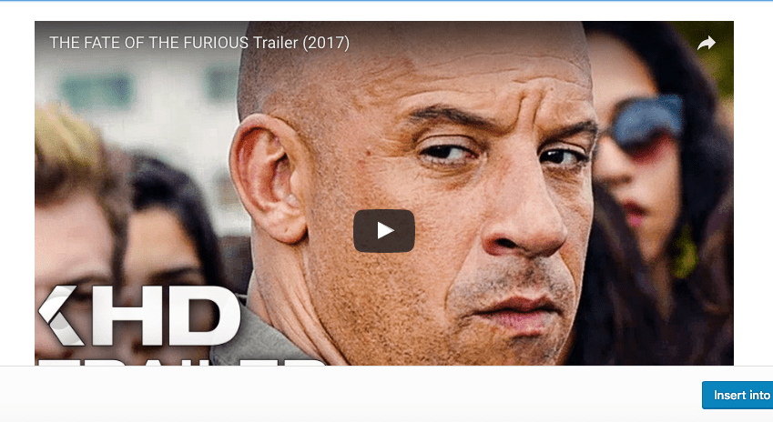 Fate of The Furious Now Playing