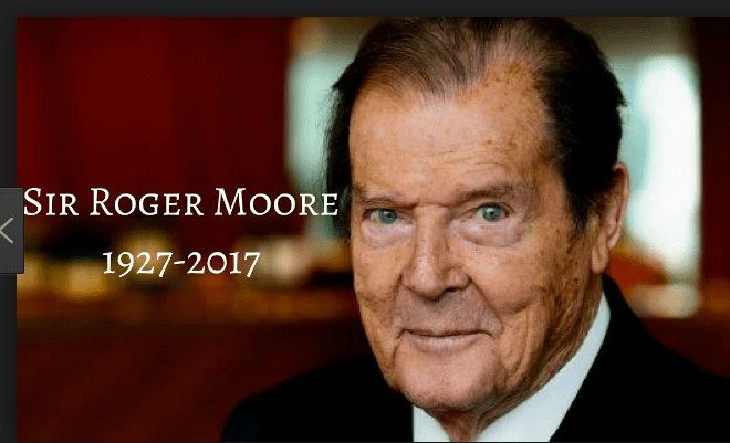 Sir Roger Moore Tributes Pour In
