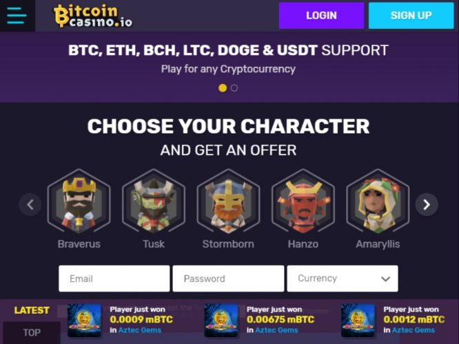 Best online bitcoin casino zambia