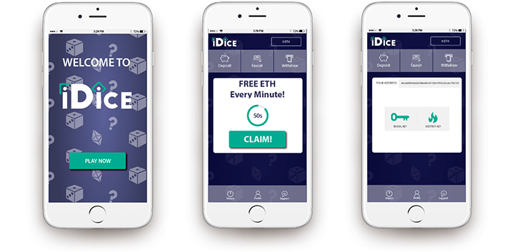 iDice mobile gaming app