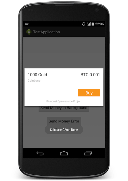 Android SDK Released – Accept Bitcoin Payment In Your Own Android App