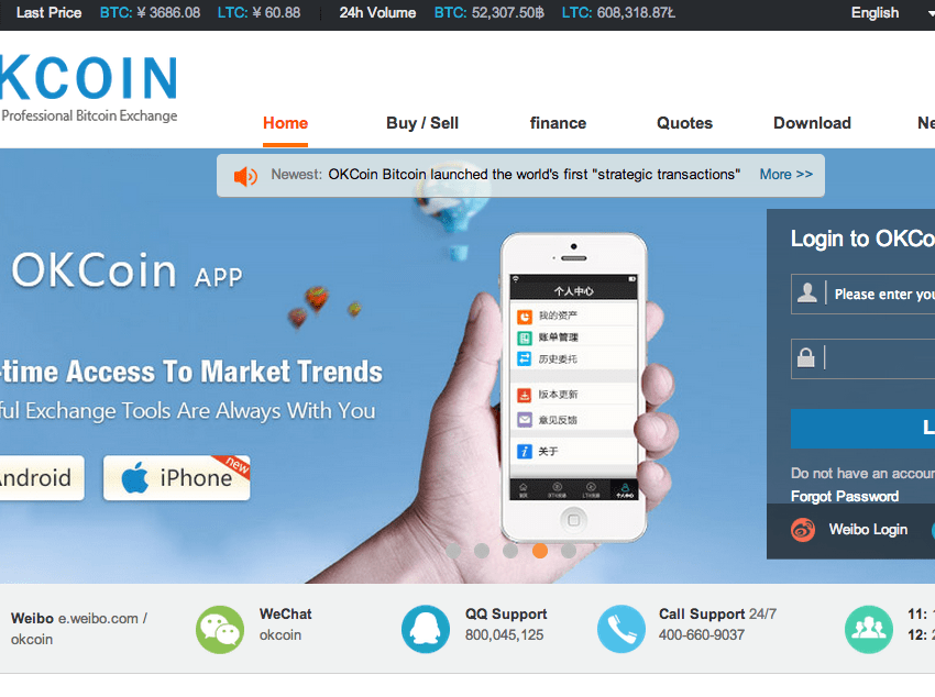 OKCoin Adds Algorithmic Trading Tools to Attract High-Volume Investors