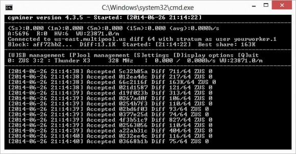 Updated CGMiner 4.3.5 with GridSeed and ZeusMiner Scrypt ASIC Support