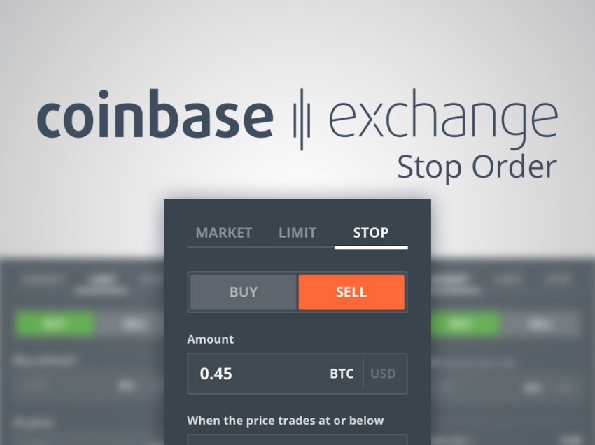 Introducing Stop Orders on Coinbase Exchange