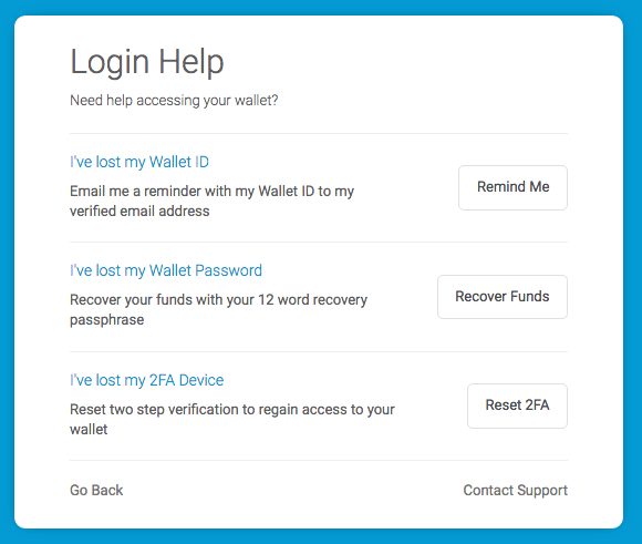 Remind, Recover, & Reset: 3 helpful tools to regain wallet access