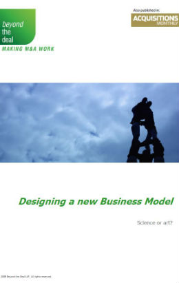 Designing a New Business Model | BTD
