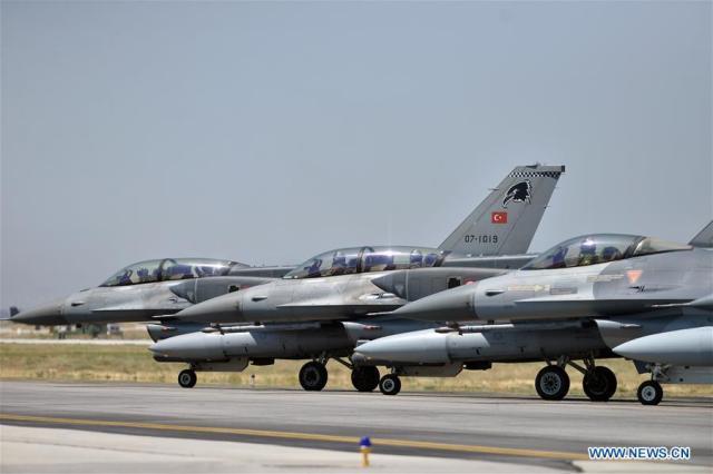 TURKEY-KONYA-INTERNATIONAL AIR DRILLS