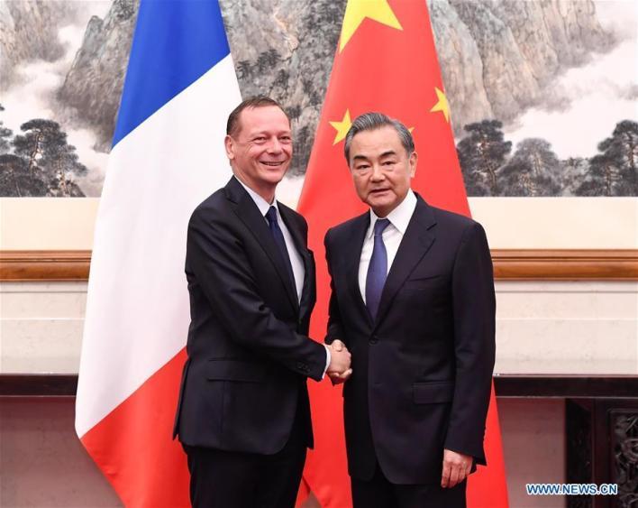 CHINA-BEIJING-WANG YI-FRANCE-CONSULTATION (CN)