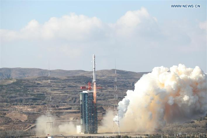 (EyesonSci) CHINA-TAIYUAN-EARTH OBSERVATION SATELLITE-LAUNCH (CN)
